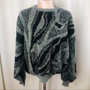 Vintage Santana Soft Grandpa Sweater.